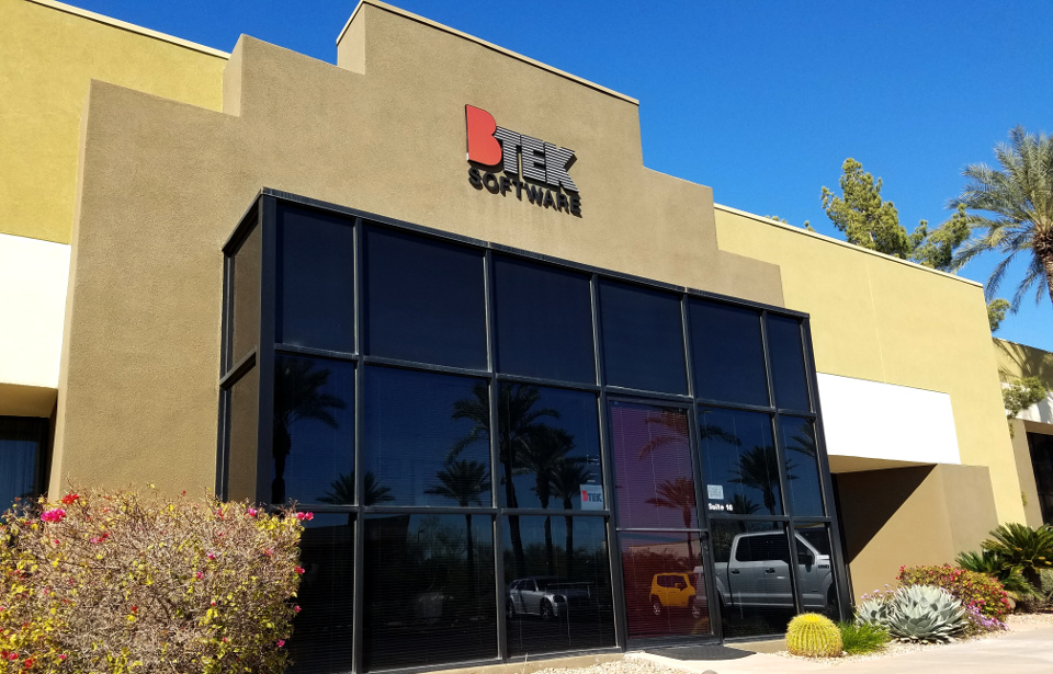 BTEK Software office in Phoenix, Arizona